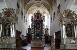 Altarraum Kirche Bad Waldsee