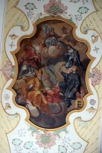 Deckenbild 2 Kirche Bad Waldsee