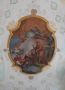 Deckenbild Kirche Bad Waldsee
