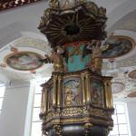 Kanzel Kirche Bad Waldsee