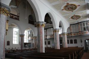 Saeulen Kirche Bad Waldsee