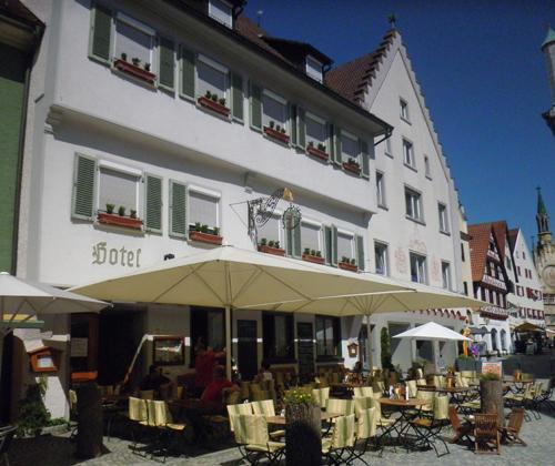 hotel und restaurant zum grünen baum bad waldsee rathausplatz © www.waldsee-tueren.de
