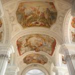 decke der basilika weingarten