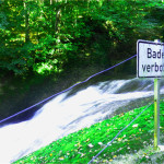 baden verboten schild eistobel isny