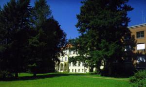 Park vor dem Krankenhaus Bad Waldsee