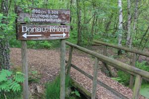 Wasserscheide Pfrunger-Burgweiler Ried Wilhelmsdorf