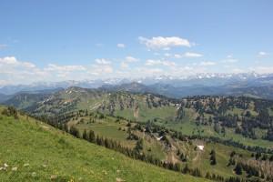 Österreichische Alpen vom Hochgrat