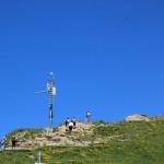 Aufstieg zum Gipfel des Hochgrat
