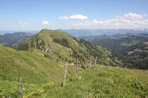 Aussicht Berge Hochgrat