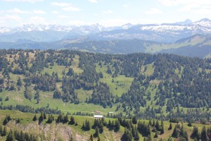 Blick-über-Alpen-vom-Hochgrat