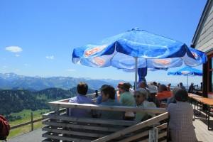 Hochgrat Restaurant mit Terrasse