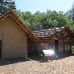 Steinzeithütten im Ferderseemuseum Bad Buchau