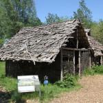 Steinzeithütten im Archäologischen Musuem Bad Buchau
