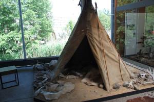 Tipi im Museum Bad Buchau