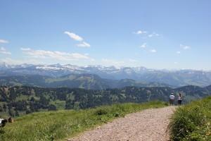 Wanderweg-Hochgrat-Oberallgäu
