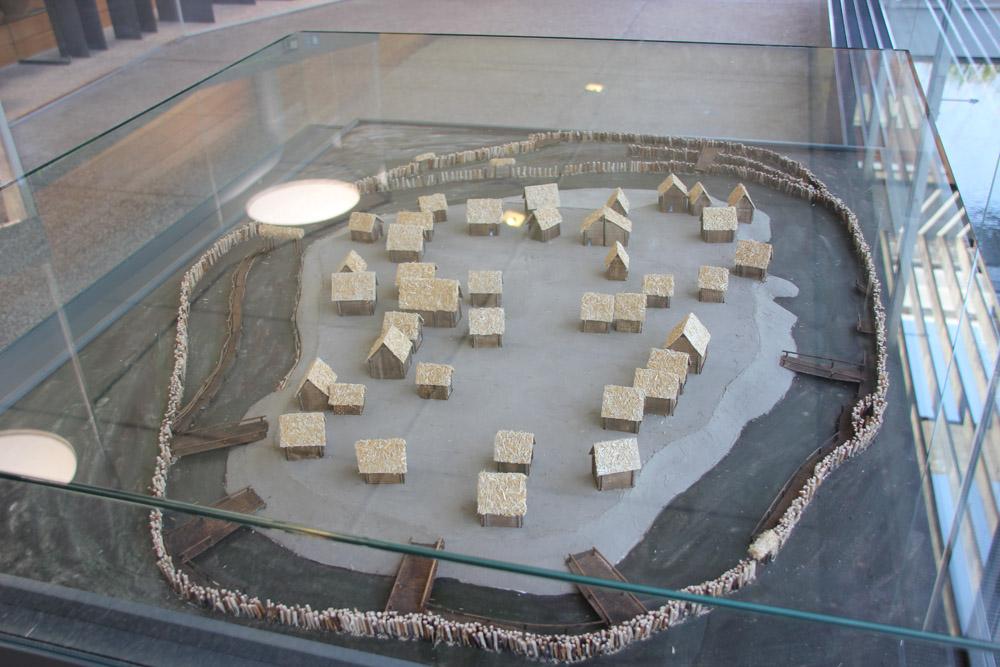 Wasserburg Federseemuseum Miniaturnachbildung