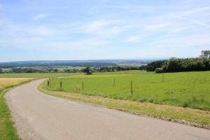 Weg zum Aussichtspunkt Aulendorf Ebisweiler