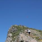 Weg zum Gipfel Hochgrat