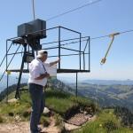 packstation für paragliding auf dem hochgrat