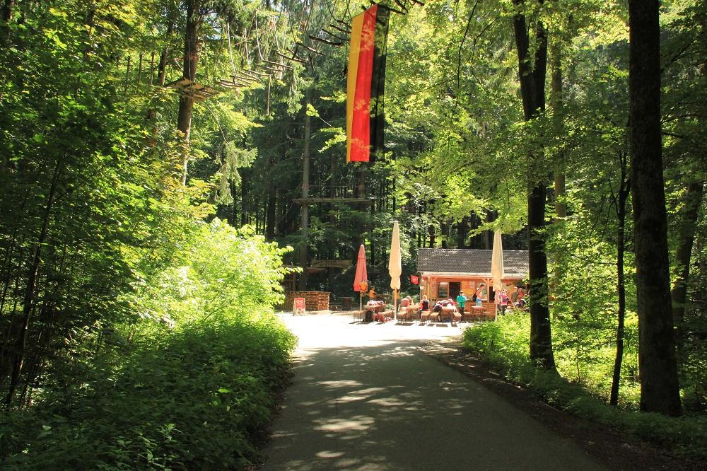 Abenteuerkletterpark Tannenbühl Bad Waldsee