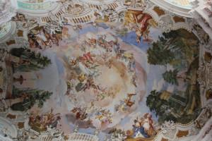 Decke Wallfahrtskirche Steinhausen