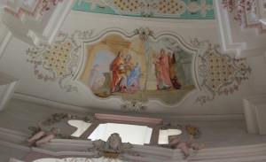 Deckenmalerei Wallfahrtskirche Steinhausen