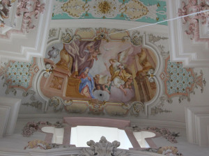 Deckenmalerei der Wallfahrtskirche Steinhausen
