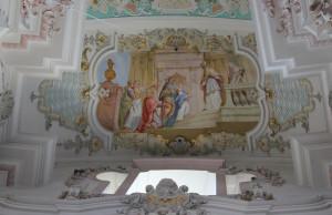 Deckenmalerei in der Wallfahrtskirche Steinhausen