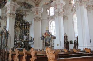 Innenraum Wallfahrtskirche Steinhausen