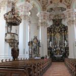 Innenraum der Wallfahrtskirche Steinhausen