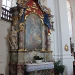 Joseph Altar Wallfahrtskirche Steinhausen