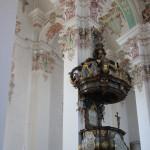 Kanzel Wallfahrtskirche Steinhausen