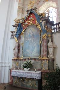 Maria Altar Wallfahrtskirche Steinhausen