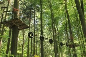 Schwerer Parcours Abenteuerkletterpark Tannenbühl Bad Waldsee