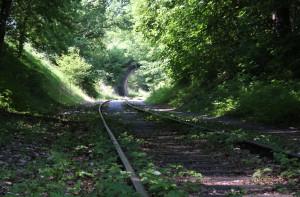 Stillgelegte Bahnlinie Schussenursprung Bad Schussenried