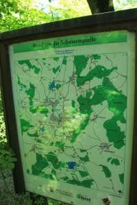 Umgebungskarte Schussenursprung Bad Schussenried