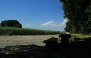 Weg zur Landstraße Schussenursprung Bad Schussenried
