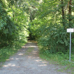 Zufahrt zum Grillplatz Gaisbeuren