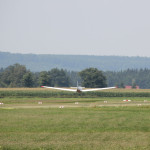 flugzeug auf Flugplatz Reute Bad Waldsee