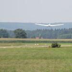 start eines flugzeugs Flugplatz Reute Bad Waldsee