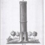 zeichnung doechtbuehlturm