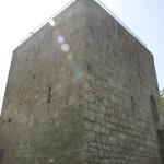 Burgturm in der Sonne Bussen Oberschwaben