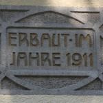 Erbauertafel Bahnhof Durlesbach