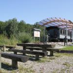 Figuren und Lok Bahnhof Durlesbach