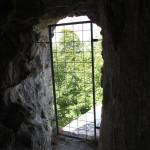 Gesicherter Turm der Burg Bussen Oberschwaben