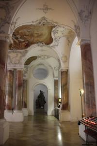 Kloster Zwiefalten Eingangsbereich