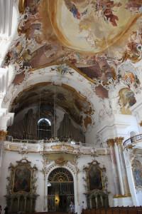 Kloster Zwiefalten Orgel