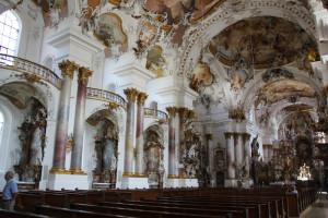 Kloster Zwiefalten Seite