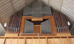 Orgel der Kirche Bussen Oberschwaben