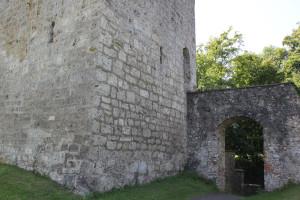 Tor zur Burg Bussen Oberschwaben